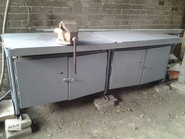 купить бу Продам слесарный стол верстак в Краматорске