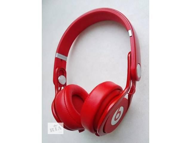 бу Продам срочно Накладные наушники Beats by Dr. Dre Mixr Red Original!!! в Полтаве