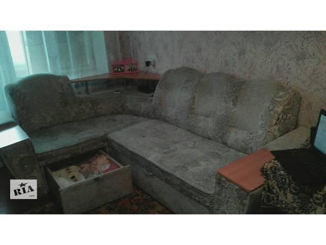 бу Продам СРОЧНО удобный, угловой диван. ТОРГ уместен (требуется чистка) в Нежине
