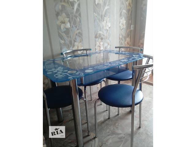 продам Продам стол, стульчики бу в Вараше (Кузнецовске)