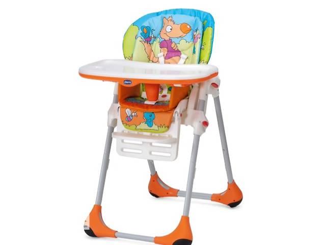 продам Продам стульчик для кормления Chico Polly 2в1,4 колеса  бу в Херсоне