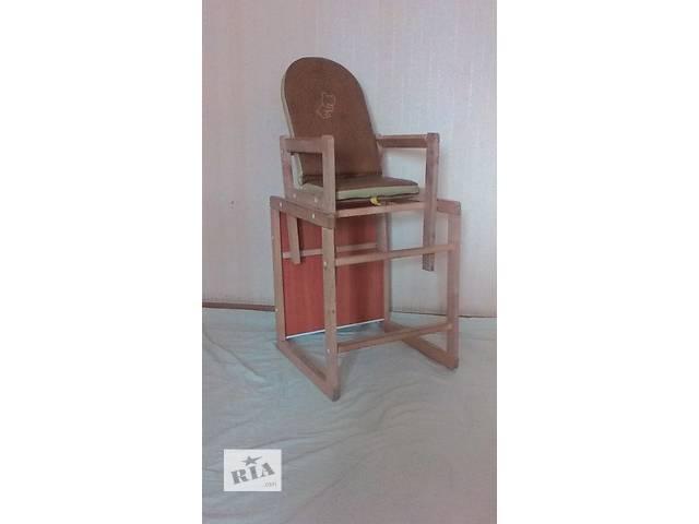 Продам стульчик-трансформер.- объявление о продаже  в Одессе