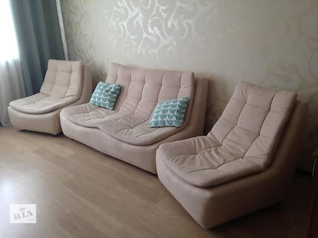 продам Продам стильный диван и два кресла для дома или офиса. бу в Харькове