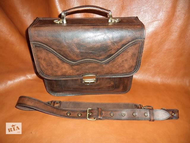 бу Продам сумку из натуральной кожи в Харькове