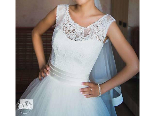 купить бу Продам свадебное платье, XS,S,M. Корсет. в Одессе
