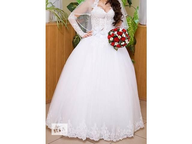 продам Продам свадебное платье. бу в Люботине