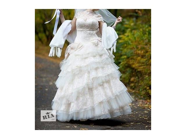 купить бу продам свадебное платье в Мариуполе (Донецкой обл.)