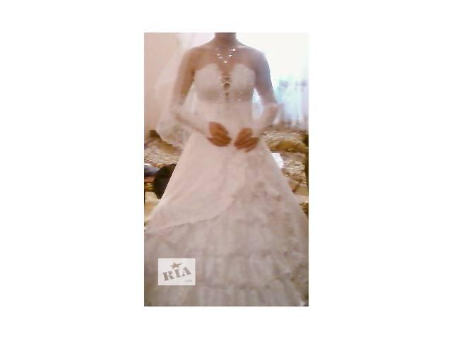 продам Продам свадебное платье бу в Киеве
