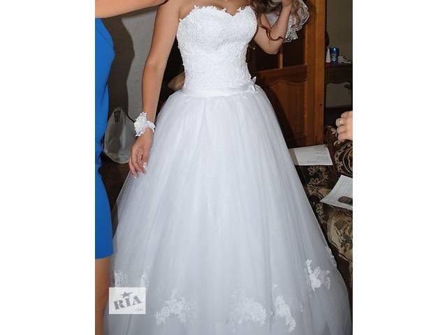 продам Продам свадебное платье бу в Харькове