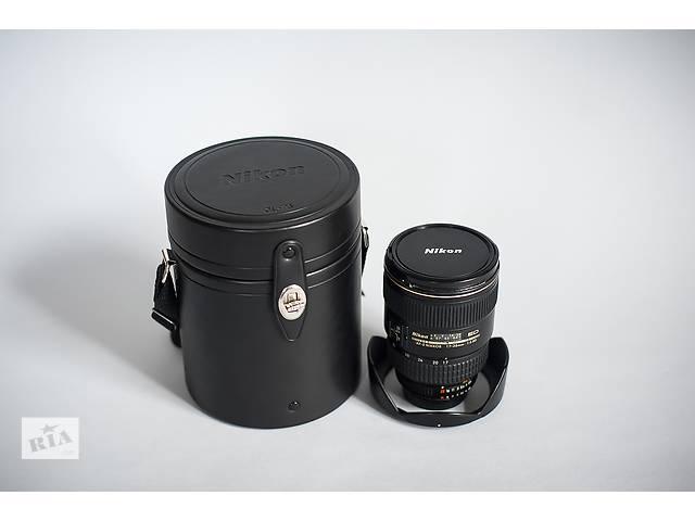 бу Продам свой широкоугольный объектив Nikon AF-S 17-35mm f/2.8D, привезённый из Америки в Конотопе (Сумской обл.)