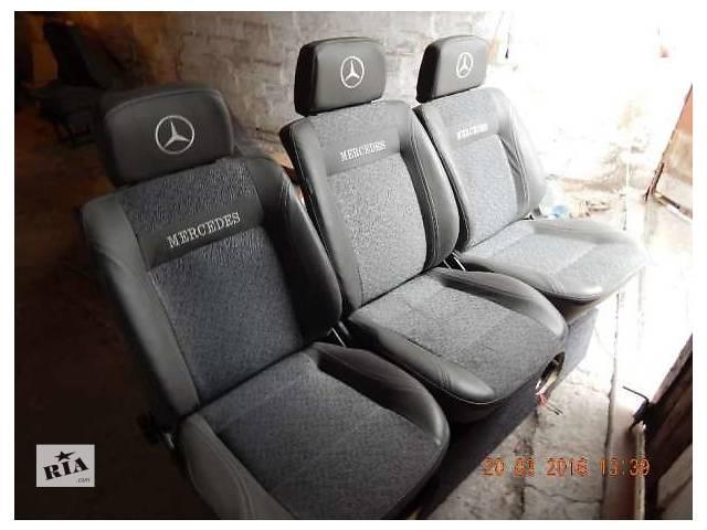 Продам сидения на Mercedes Vito 638 в отличном состоянии- объявление о продаже  в Запорожье