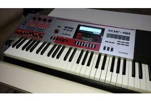 Новые Синтезаторы-рабочие станции Casio