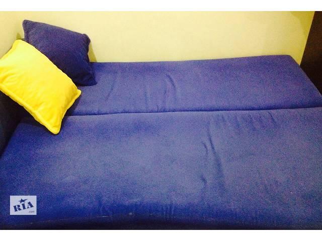 продам Продам синий диван 2-х спальный (190*160)!  бу в Виннице
