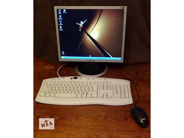 бу Продам настроенный рабочий  компьютер в Броварах