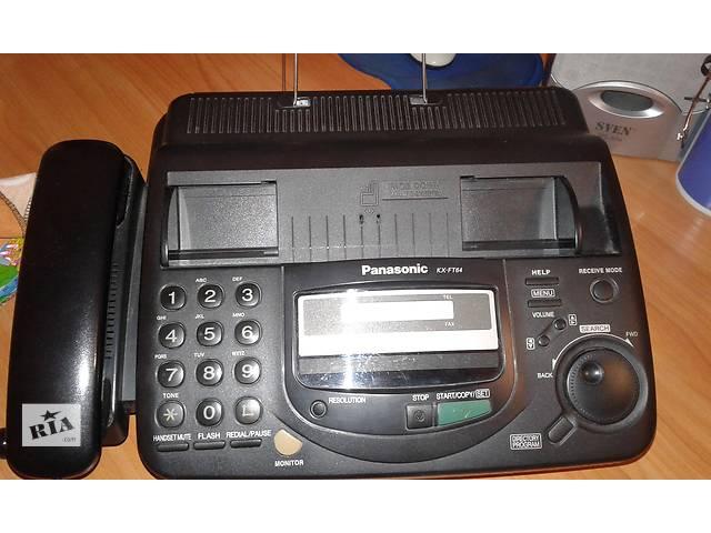 продам Продам телефон-факс Panasonic KX-FT64 бу в Киеве