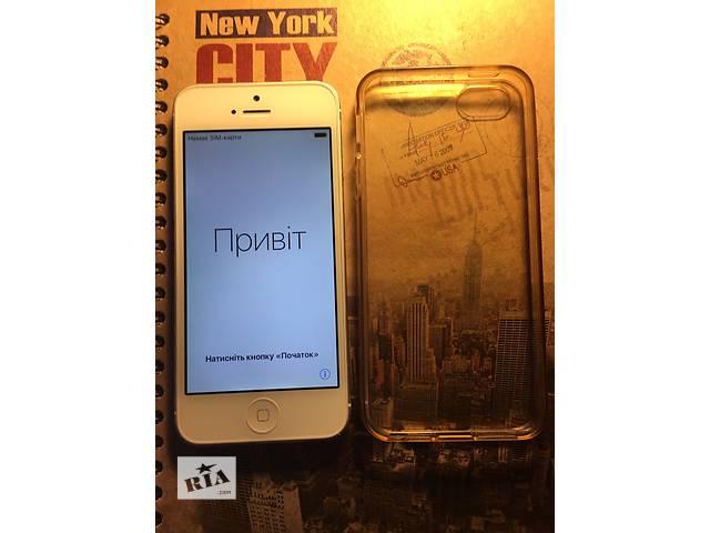 бу продам телефон iPhone 5 16 gb.айфон 5 16. Apple. iPhon 5 в Днепре (Днепропетровск)