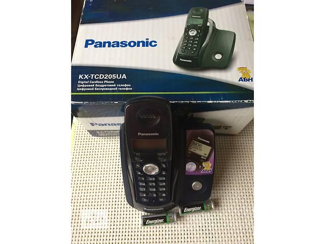 Продам  Телефон  цифровой беспроводный PANASONIC КХ-TXD 205 UA, АОН, питание от сети 220, cтандарт DECT радиус действия- объявление о продаже  в Киеве