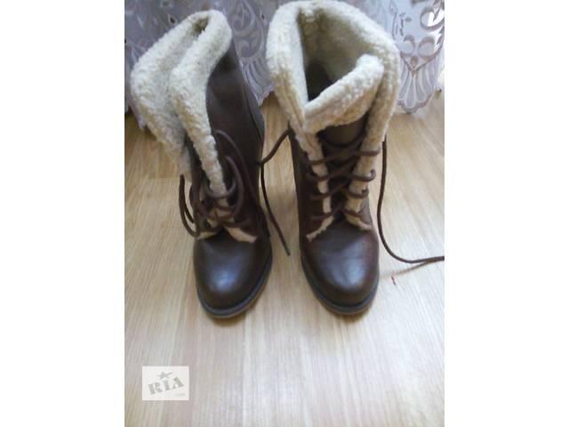 продам теплые  ботинки на зиму- объявление о продаже  в Дубно (Ровенской обл.)