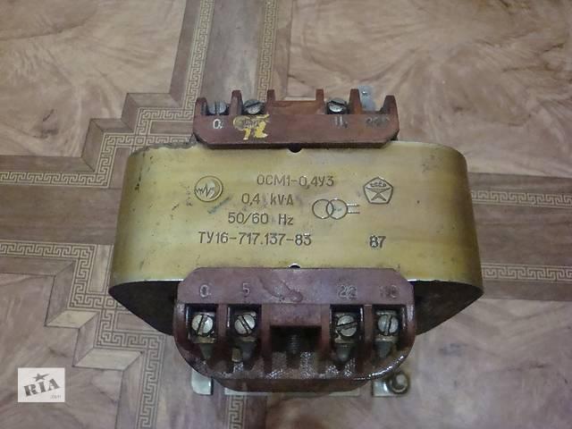 продам Продам трансформатор ОСМ1-0,4УЗ (производство СССР) бу в Донецке