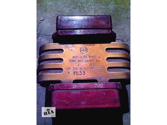 Продам трансформаторы- объявление о продаже  в Одессе