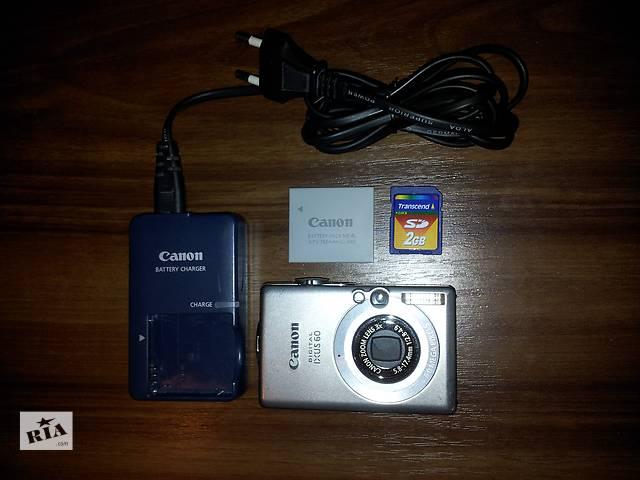 продам Продам цифровой Фотоаппарат Canon DIGITAL IXUS 60 бу в Одессе