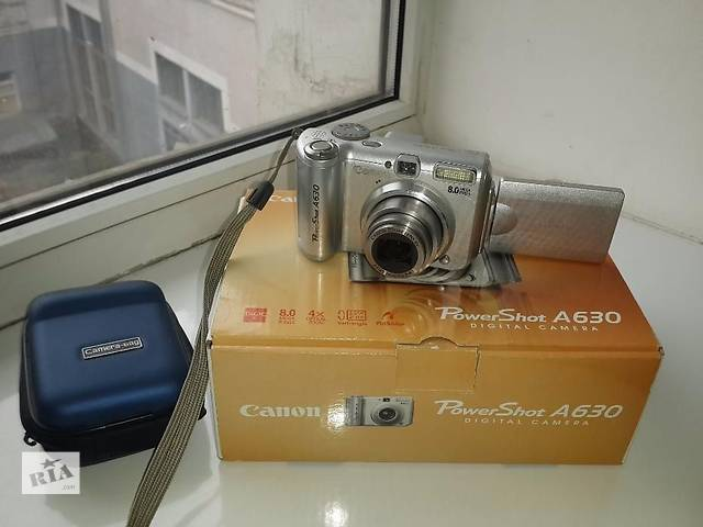 бу Продам цифровой фотоаппарат Canon PowerShot A630 в Днепре (Днепропетровск)