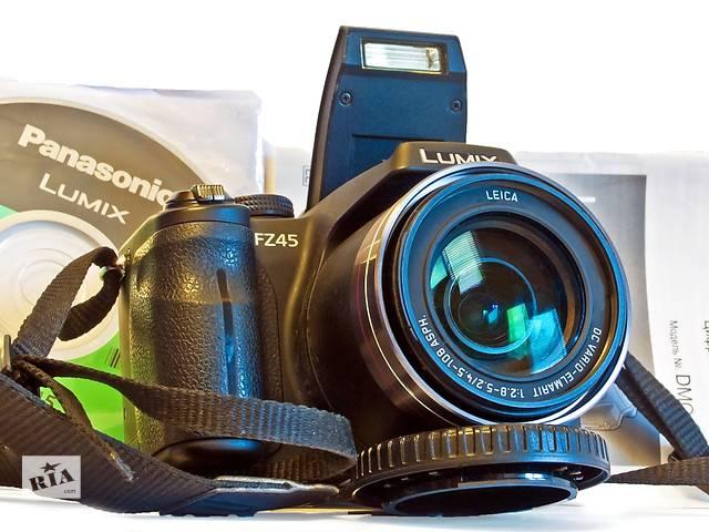 Panasonic DMC-FZ45 Цифровая просьюмерская камера, гарантия, идеал!- объявление о продаже  в Одессе