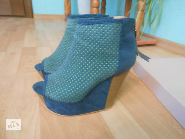 Продам туфли на платформе- объявление о продаже  в Луцке