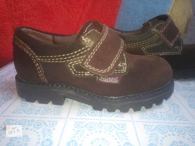 продам Продам туфли из натуральной замши р. 24  бу в Киеве