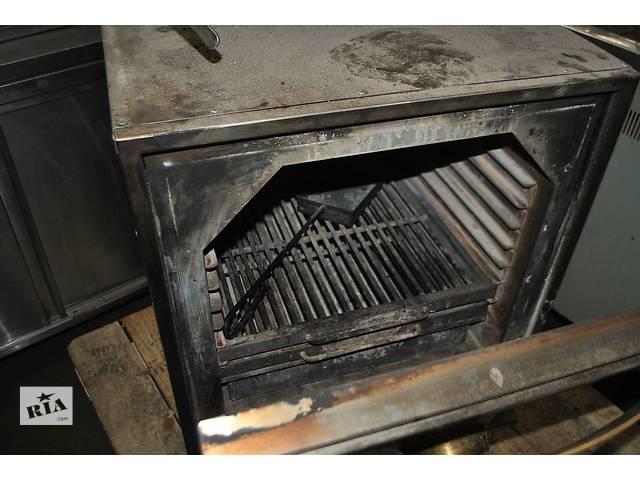 Продам угольную печь бу хоспер BQ 1H для ресторана, кафе, бара. Хоспер бу обшит нержавеющей сталью 12 мм- объявление о продаже  в Киеве