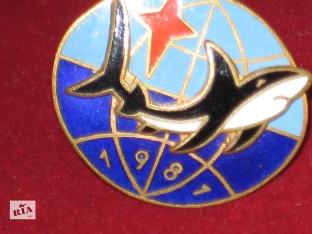 купить бу продам уникальный знак спецназа ВМФ СССР 1981г в Николаеве