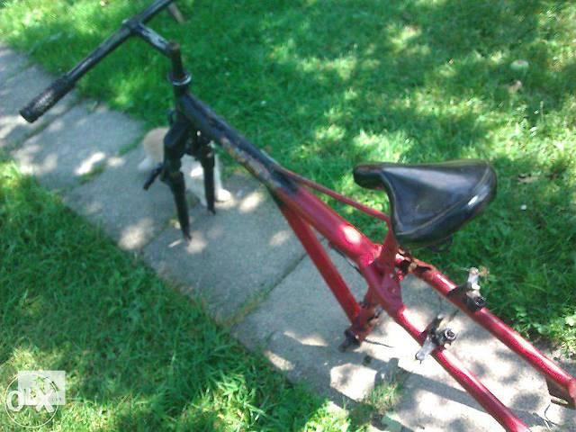 продам Продам велосипедную раму частично в сборе немецкого производства бу в Ивано-Франковске