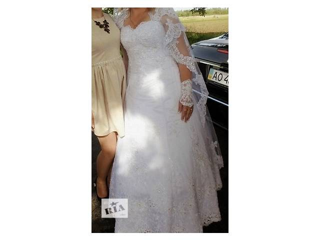 бу Продам свадебное платье в Хусте