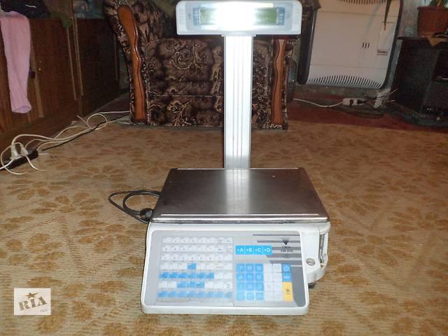 бу Продам весы б/у digi sm 300p-электронные с печатью этикеток в Днепре (Днепропетровске)