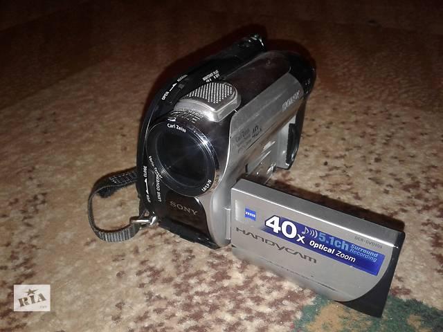 Продам видеокамеру SONY DCR-DVD 109E- объявление о продаже  в Мурованых Куриловцах