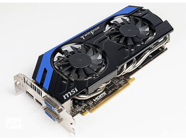 купить бу Продам видеокарту MSI GeForce GTX 670 POWER EDITION в Киеве