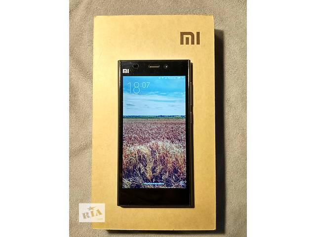 Продам Xiaomi Mi3 64Gb Black + 3 чехла к нему.- объявление о продаже  в Днепре (Днепропетровске)