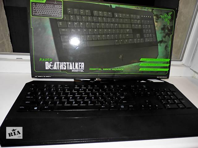 Продам  игровую клавиатуру Razer DeathStalker Essential- объявление о продаже  в Кривом Роге