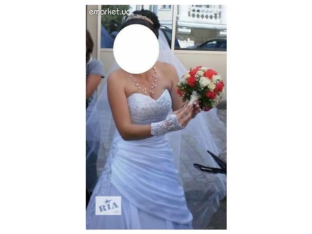 продам Продам или сдам в прокат свадебное платье в стиле Принцесса бу в Харькове