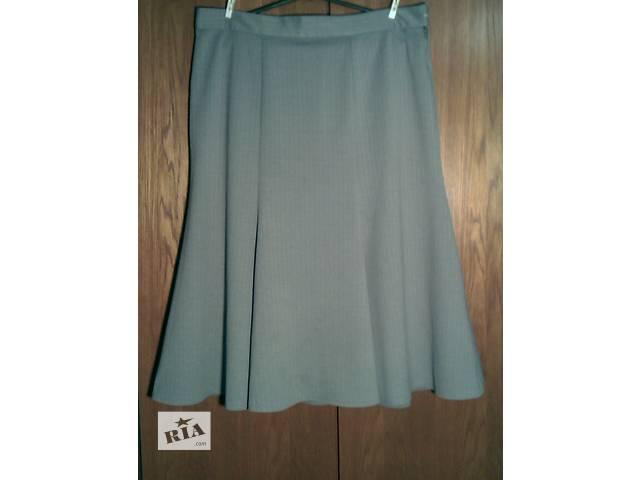 бу Продам юбку серого цвета из трикотажа  размер 52. Производство Германия. в Харькове