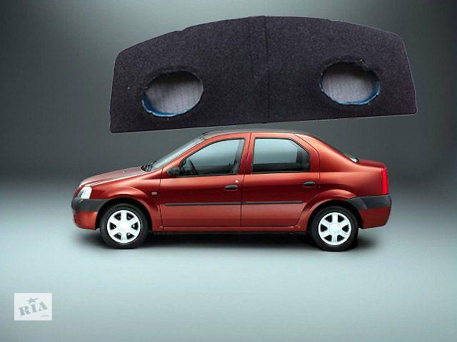 купить бу Продам заднюю полку на авто Логан с дырками под акустику овалы! Состояние новый. Цена всего 300 грн. в Киеве