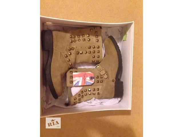купить бу Продам замшевые ботинки Pepejeans (Британия)! в Днепре (Днепропетровск)