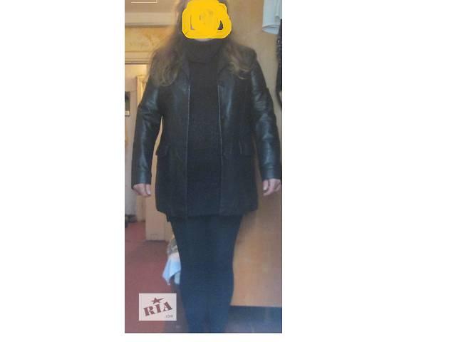 Продам женскую кожаную куртку в отличном состоянии (ИТАЛИЯ, Vera Pelle, оригинал)- объявление о продаже  в Киеве