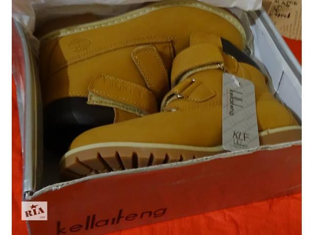 купить бу зимние ботинки ТМ Kellaifeng - копия культовых тимберлендов в Харькове