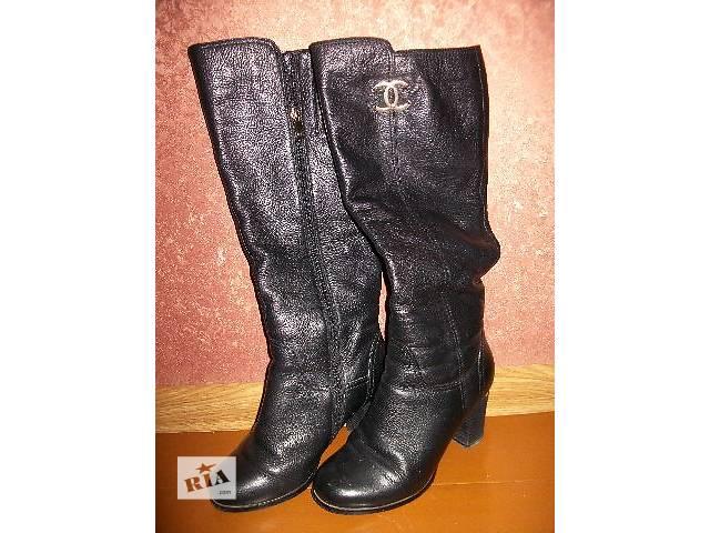 бу продам женские сапоги кожаные новые в Хмельницком