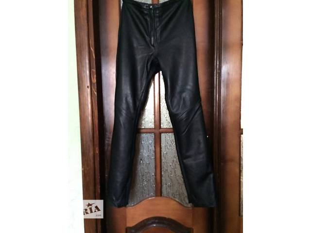 Продам женские итальянские кожаные штаны- объявление о продаже  в Виннице
