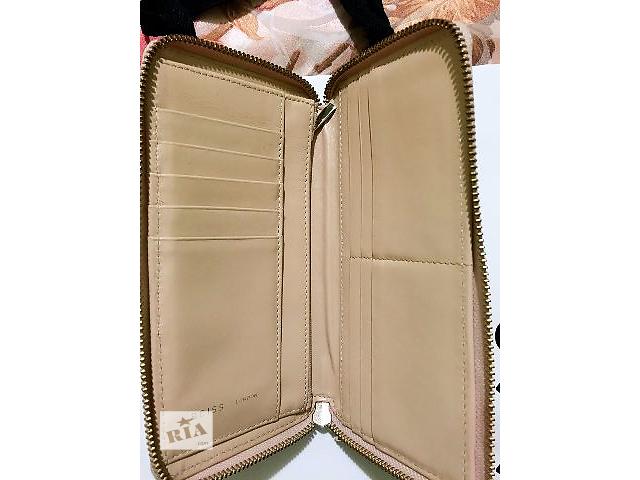 Продаю кожаный женский кошелек Reiss на молнии- объявление о продаже  в Киеве