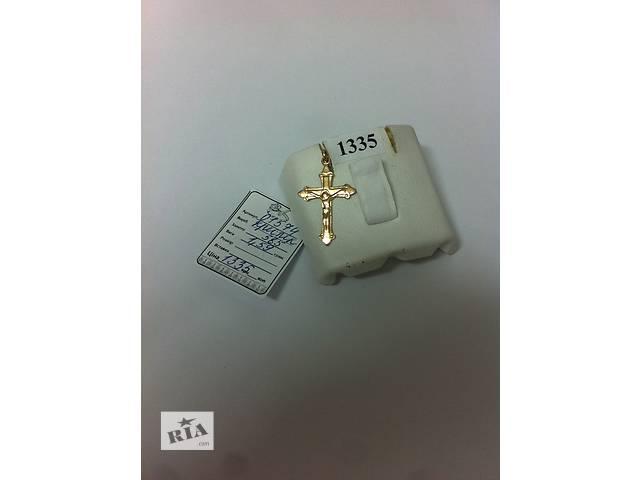 продам продам золотой крестик бу в Одессе