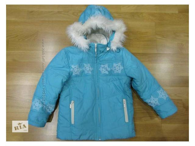 продам Продам зимнюю куртку на девочку р. 116 бу в Южном (Одесской обл.) (Южный)