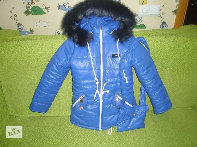 бу Продам зимнюю куртку ПАРКУ на девочку. новая  в Луганске